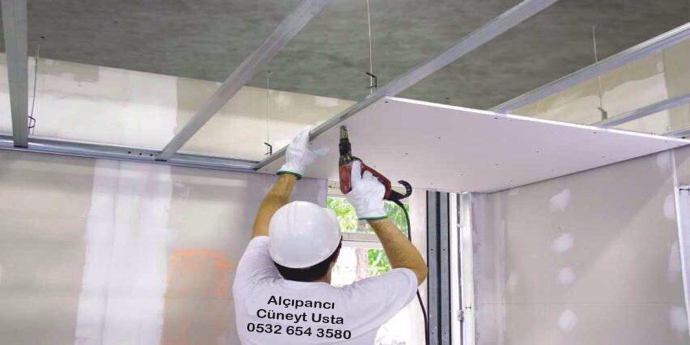 alçıpan tavan ustası