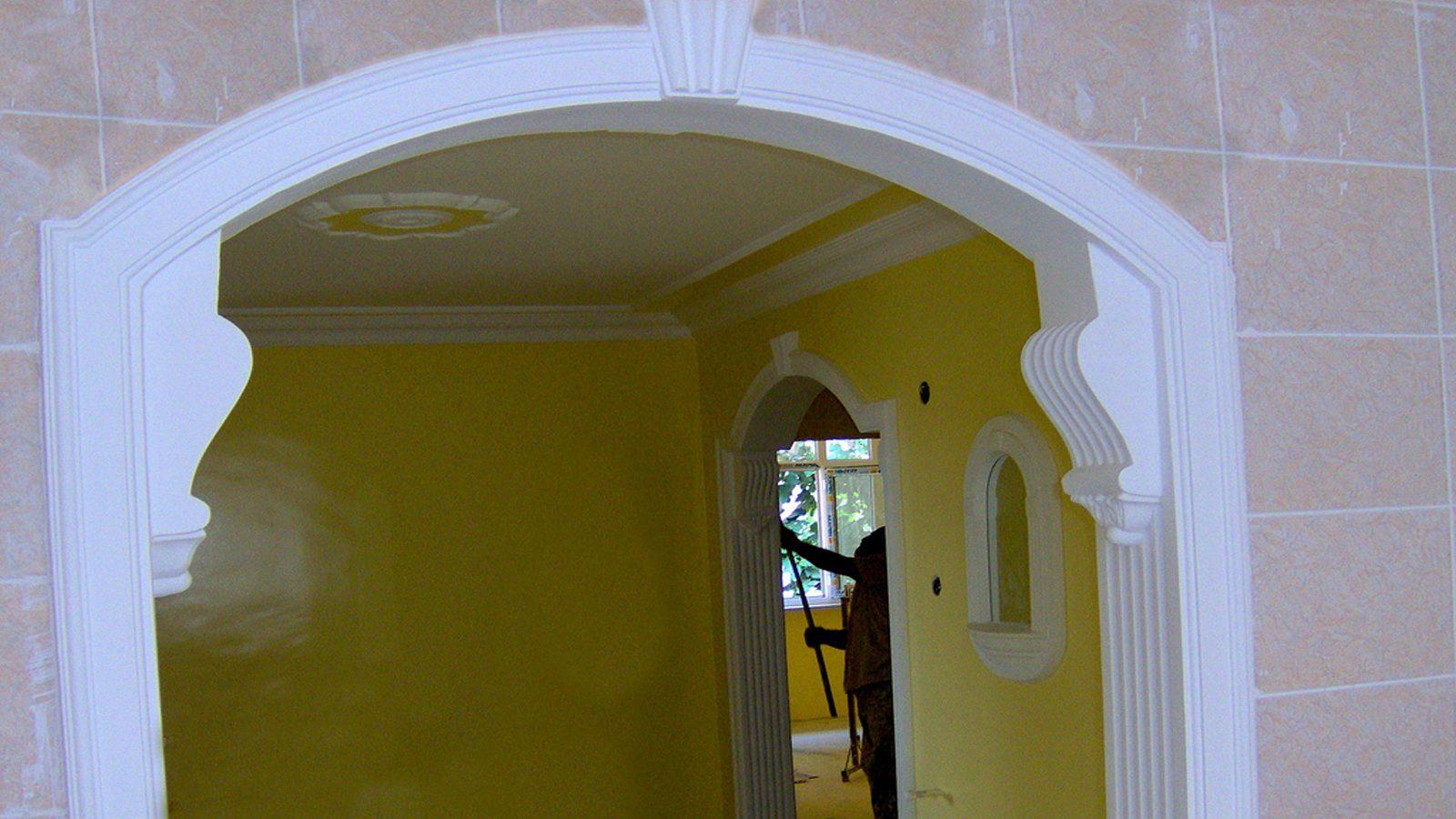 desenli kapı kemerleri