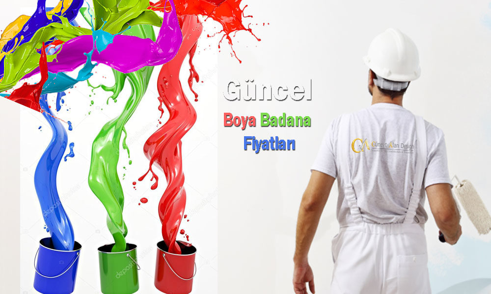 Boya işçilik ve malzemeli güncel fiyat listeleri