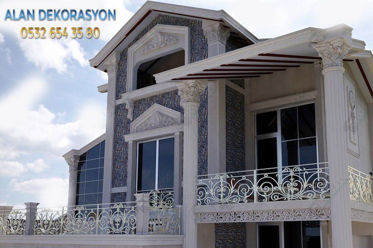villa dış cephe dekorasyonları7