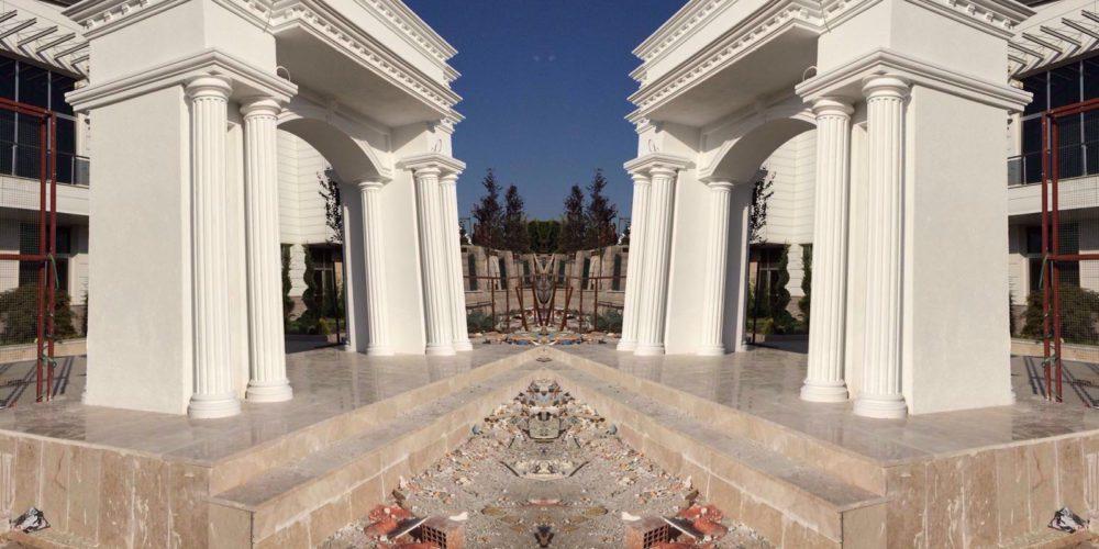villa-giriş-kapısı-kemer-modelleri
