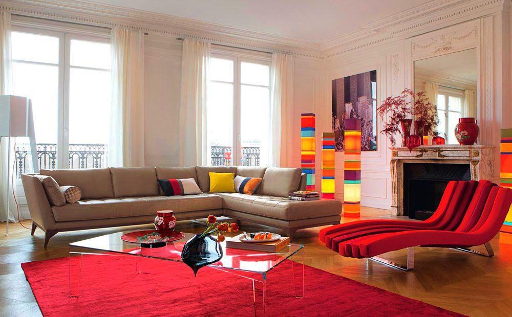 Krmz Salonlar En k Ve Son Moda Salon Dekorasyon