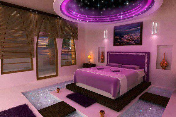 yatak odası asma tavanları