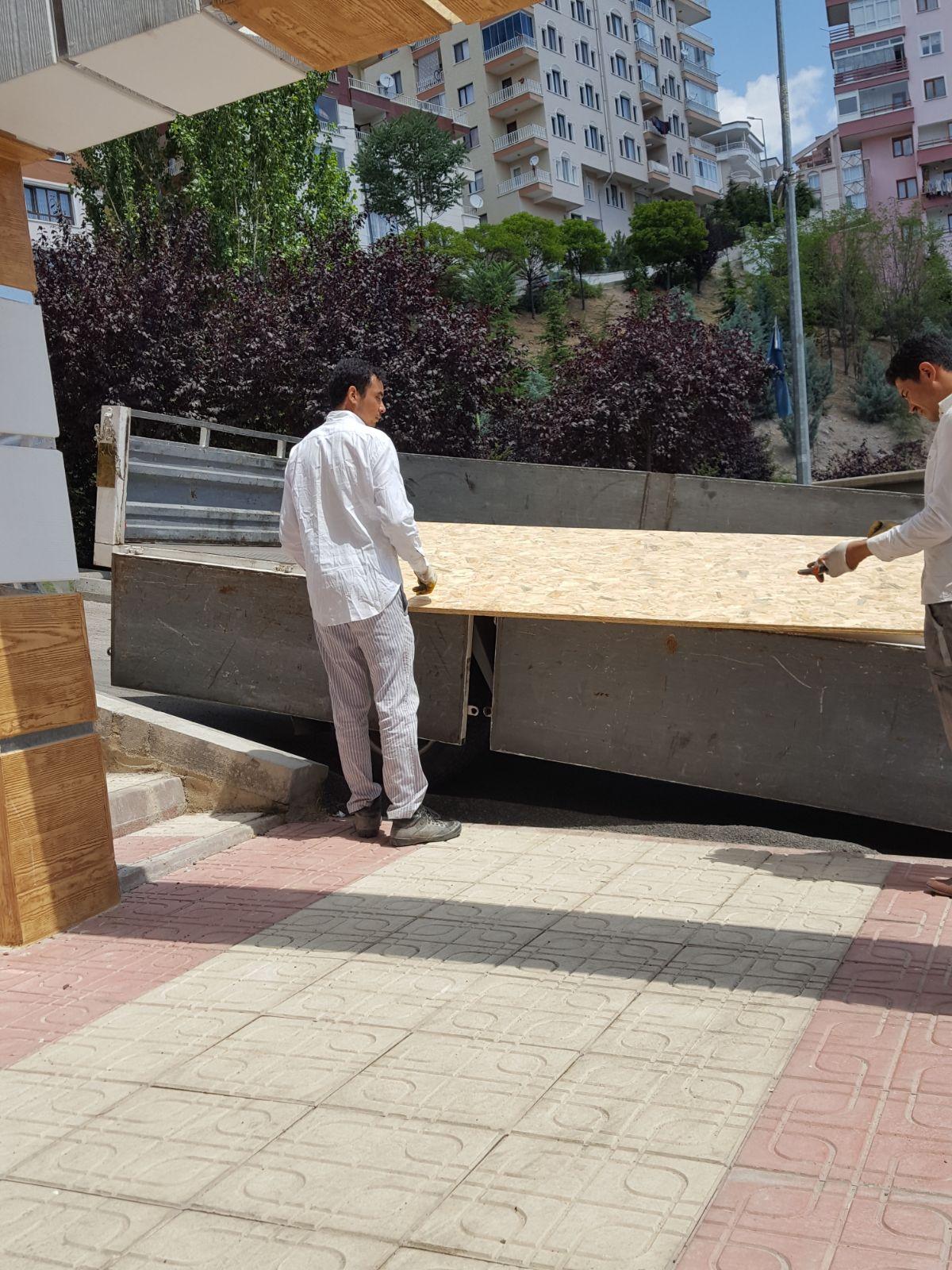 teras kapatma osb montaj 1