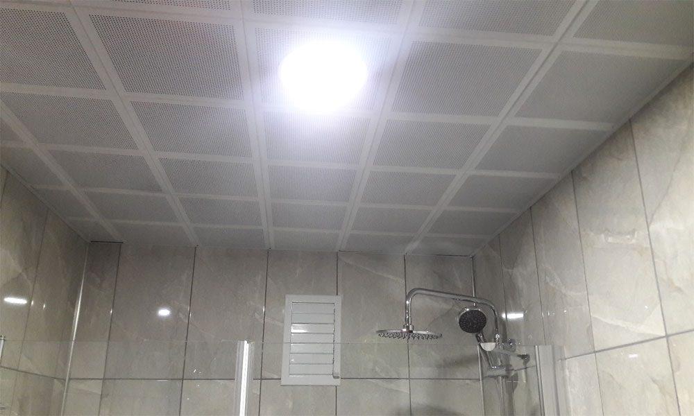 Banyo asma tavan çalışmamız