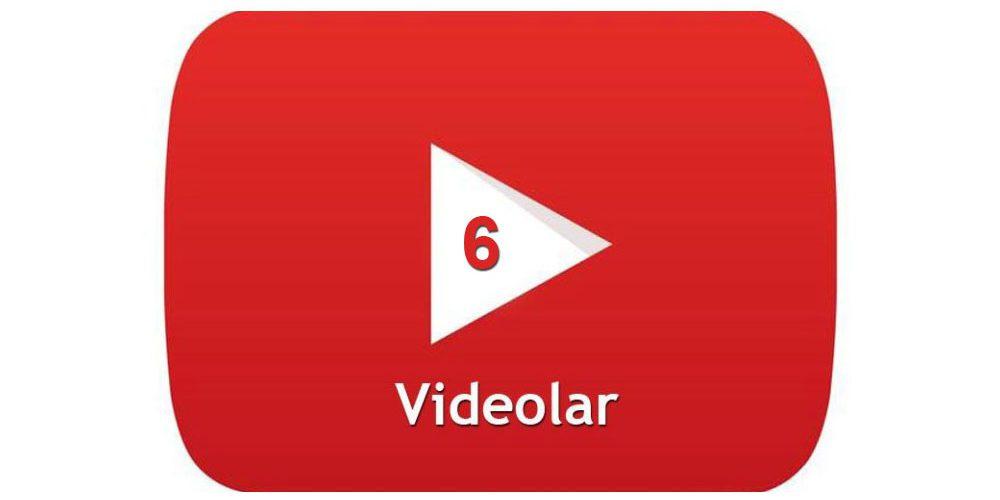 Tadilat Videolarımız 6