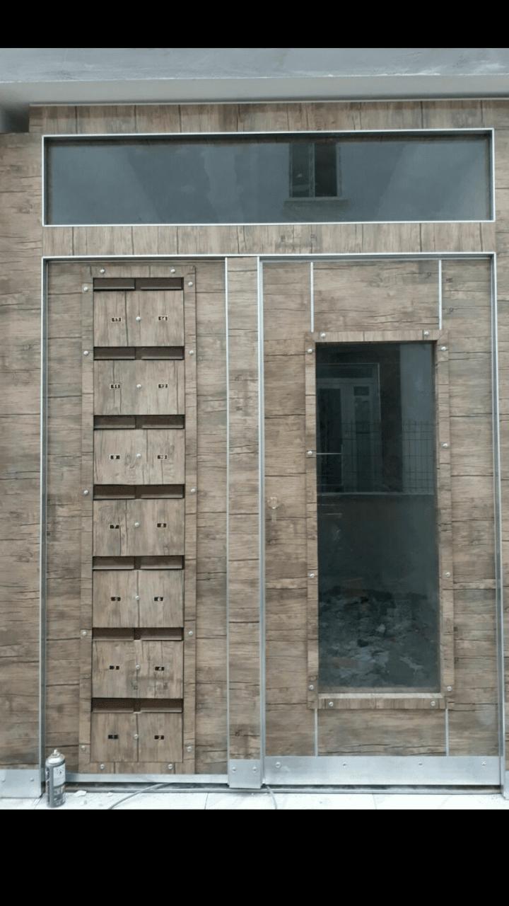 Bina dış giriş çelik kapısı