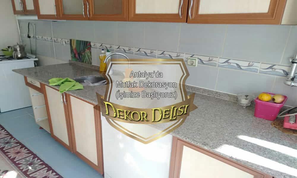 Antalya'da Mutfak Dolapçısı